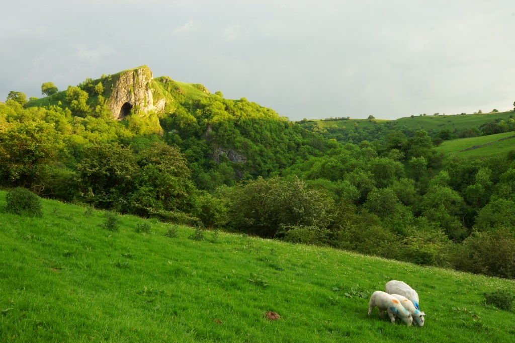 Thors Cave - Peak District - Without Filters