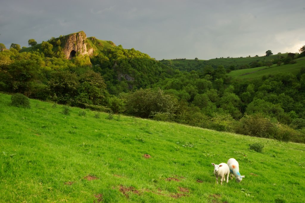 Thors Cave - Peak District - With 84.5mm strong graduated ND filter