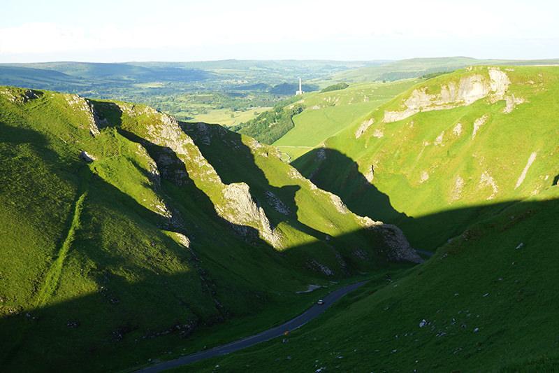 Winnats Pass - Peak District - Without Filter