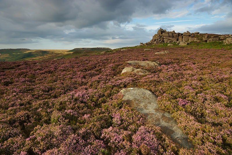 Over Owler Tor - Peak District - With 84.5mm Strong ND Filter