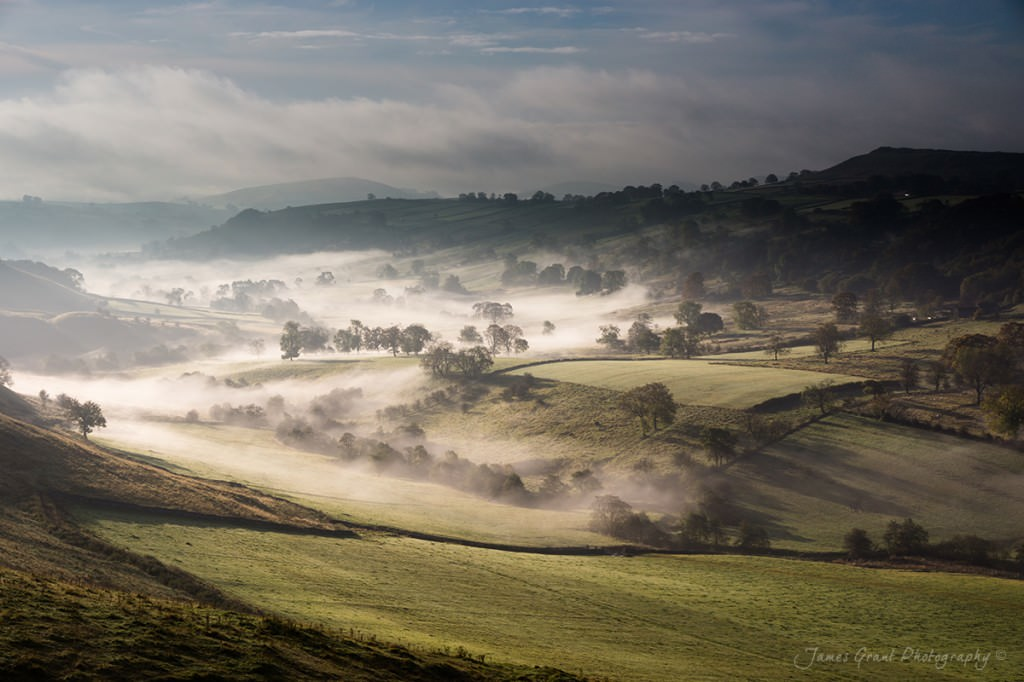 Dove Valley from Cwodicote - Peak District