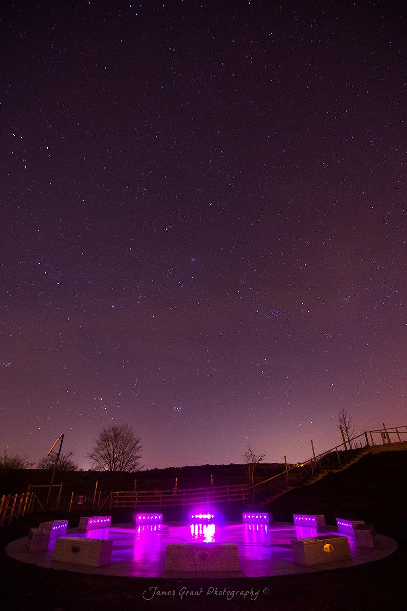 Wirksworth Stardisc Night Sky - Derbyshire
