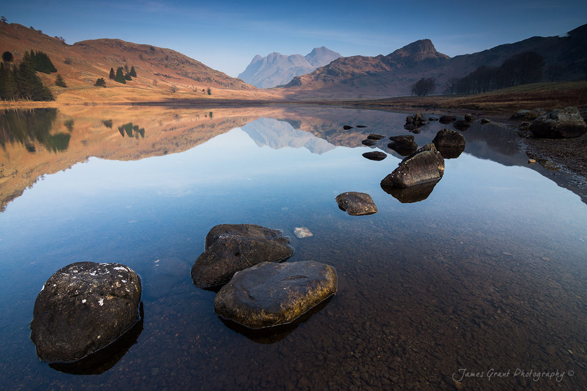Blea Tarn Reflections - Lake District