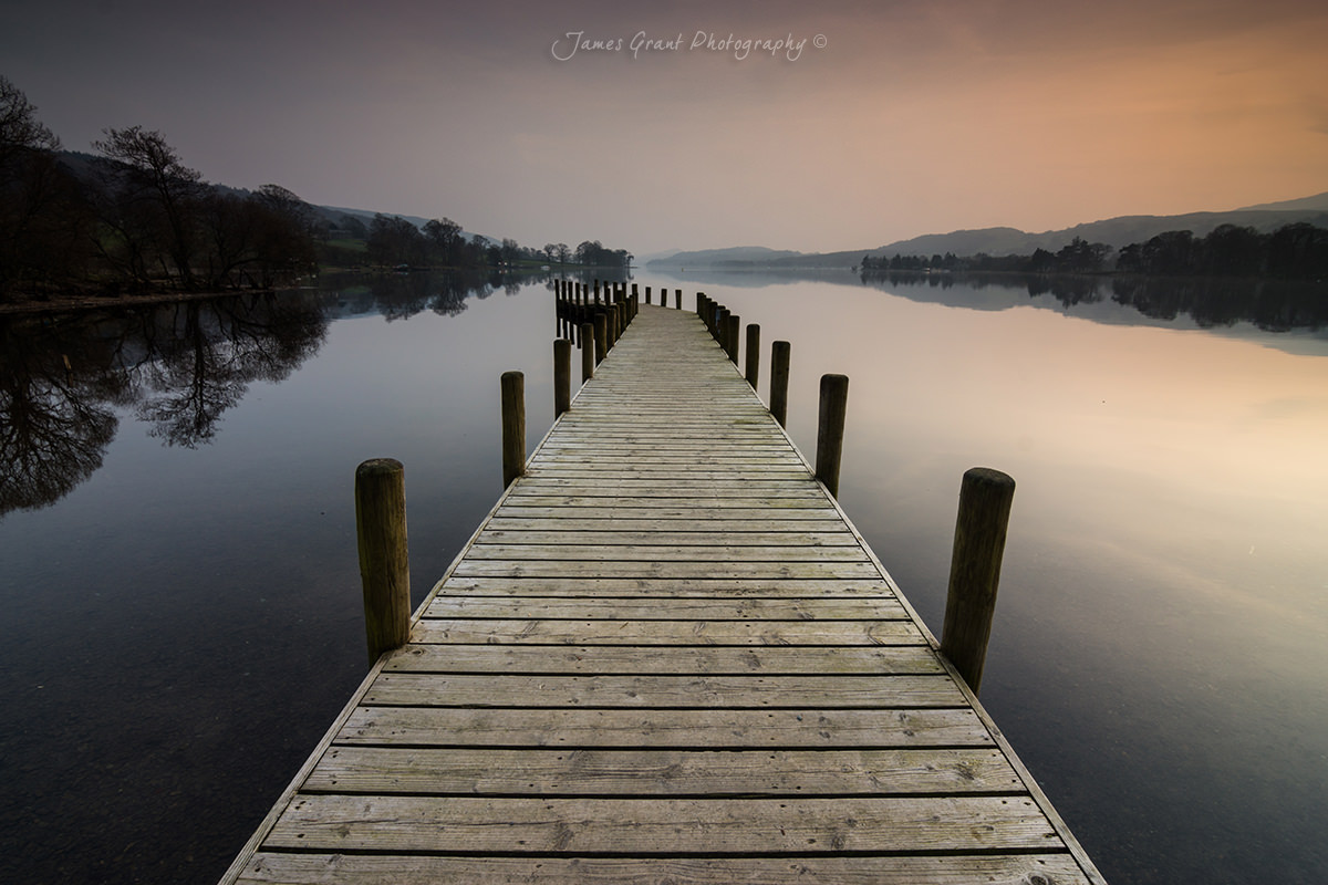 Classic Jetty Photo - Coniston Water - Lake District