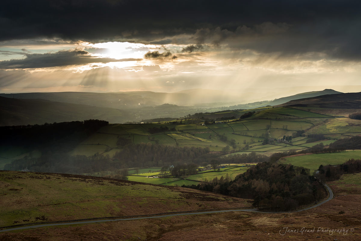 Hope Valley Light - Peak District Photography