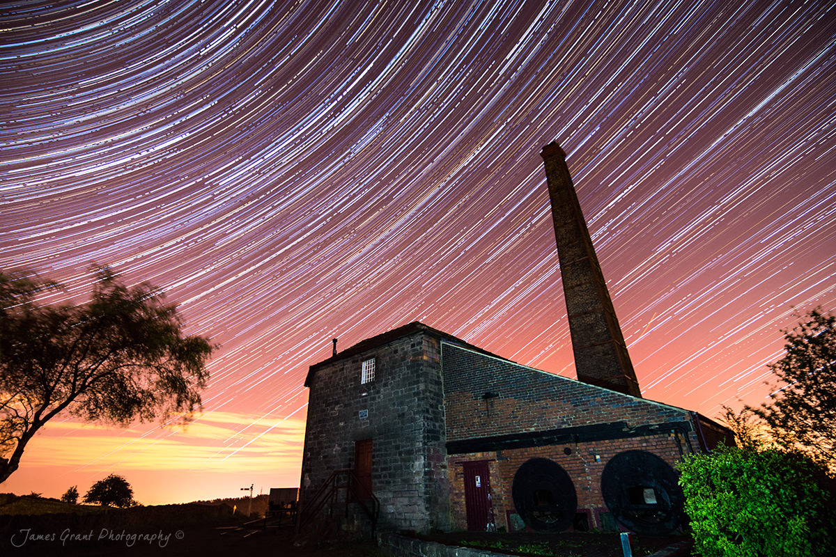 Middleton Top Star Trails - Peak District Photography