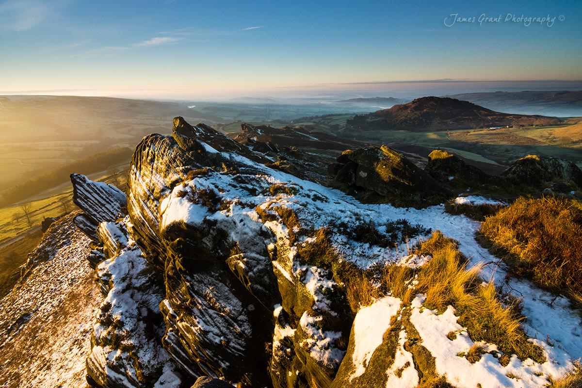 Ramshaw Rocks Sunirse - Peak District Photography