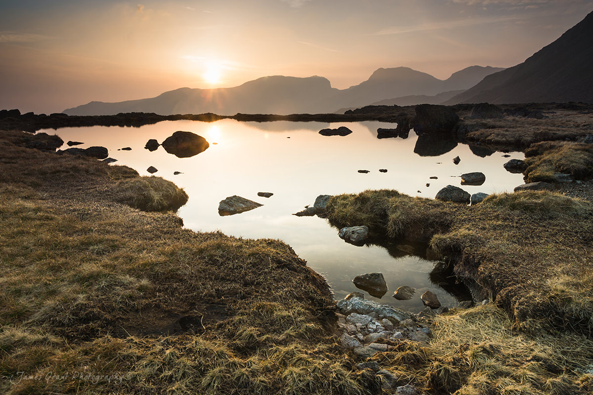 Three Tarns - Lake District Wild Camping Photography