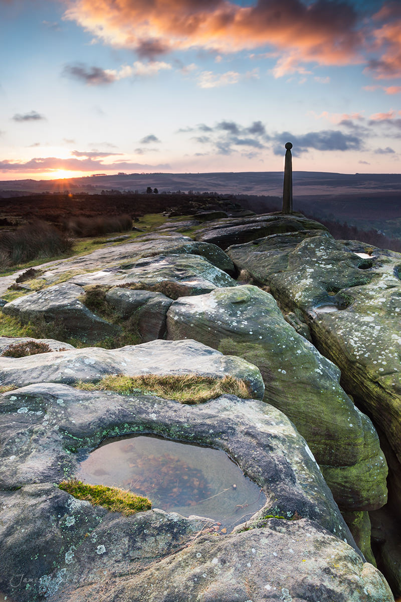 Birchen Edge Sunrise - Peak District Photography