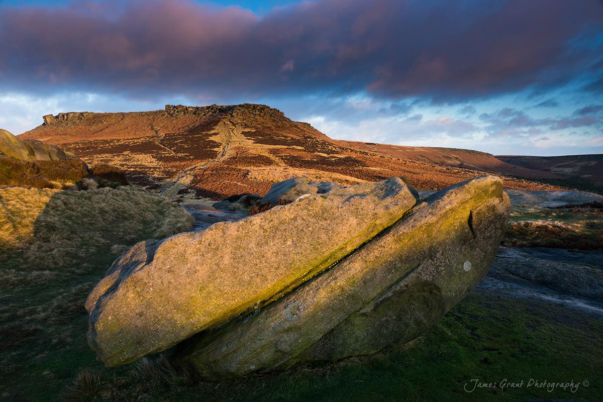 Carl Wark To Higger Tor - Carl Wark Sunrise - Peak District Photograhy