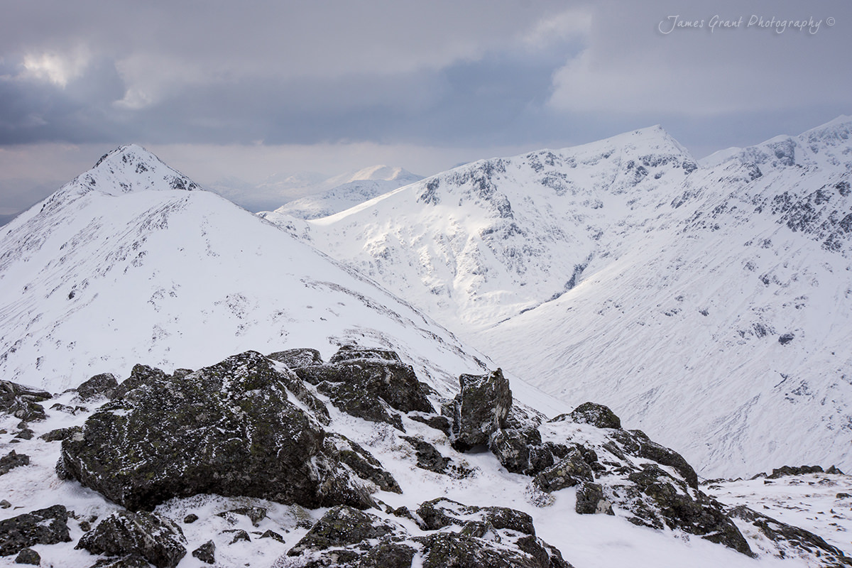Stob Dubh and Stob Coire Sgreamhach - Scotland Photography