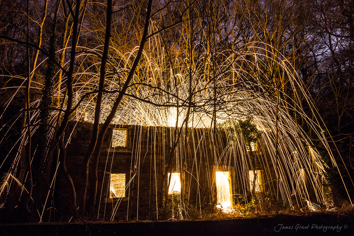 Cromford Canal - Wire Wool Burning