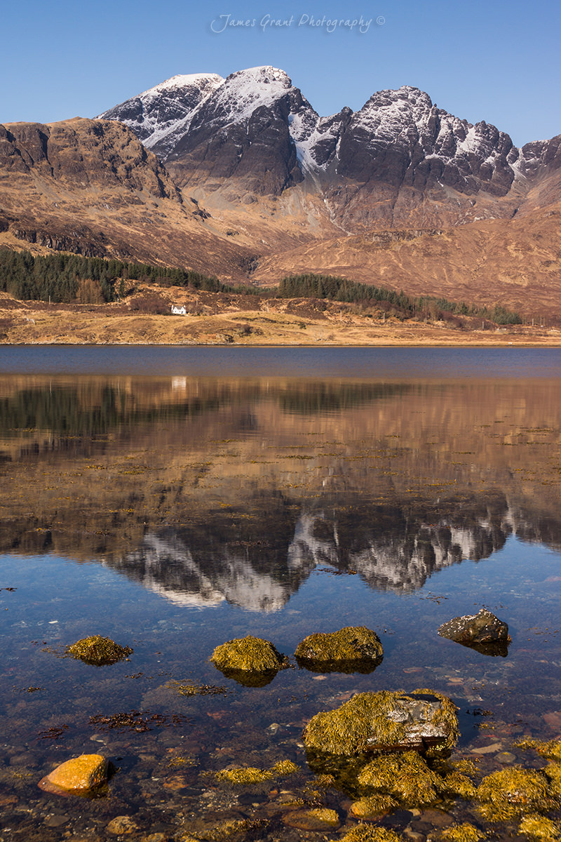 Bla Bheinn Reflections - Loch Slapin - Isle Of Skye - Scotland Photography