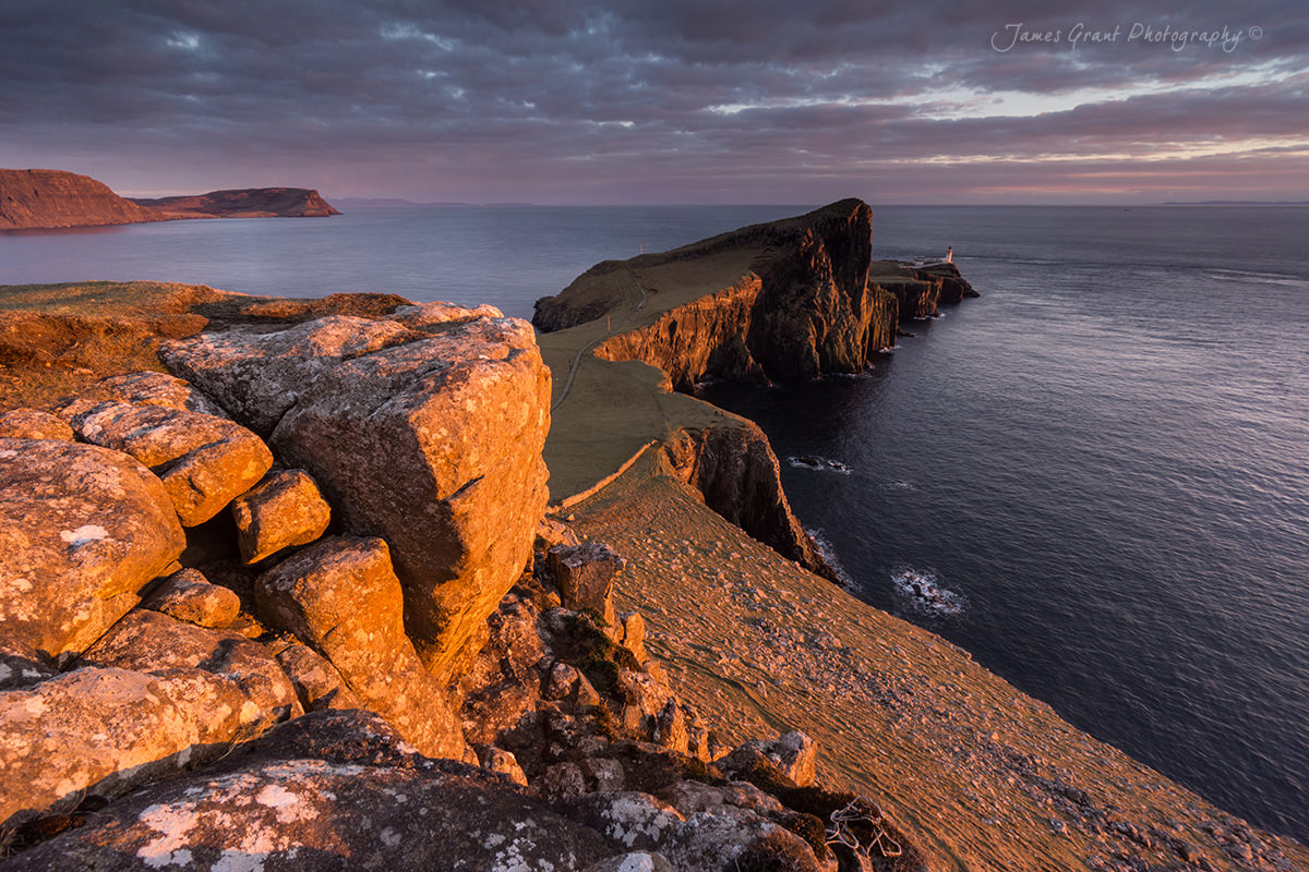 Neist Point Sunset - Isle Of Skye - Scotland Photography