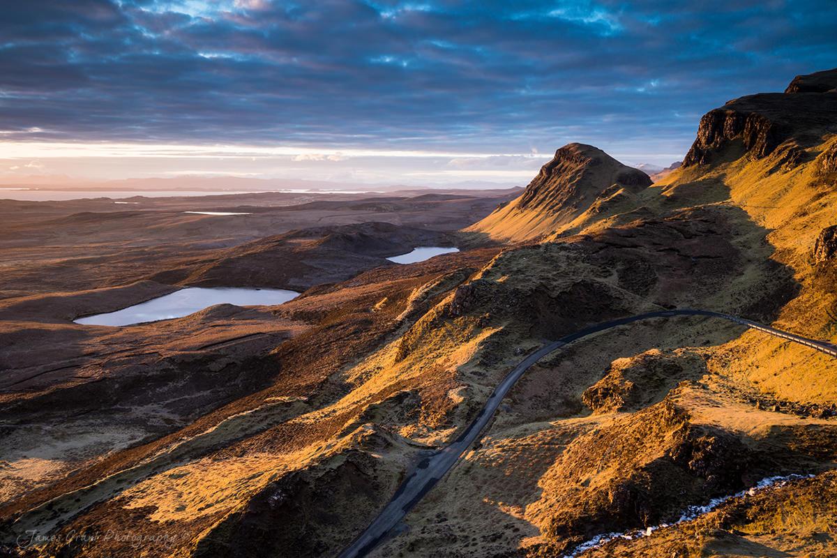 The Quaraing Sunrise - Isle Of Skye - Scotland Photography