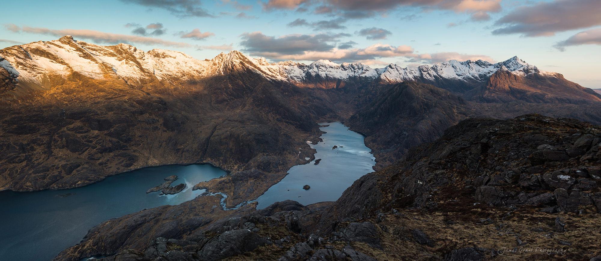 Sgurr Na Stri Sunrise - Isle Of Skye - Scotland
