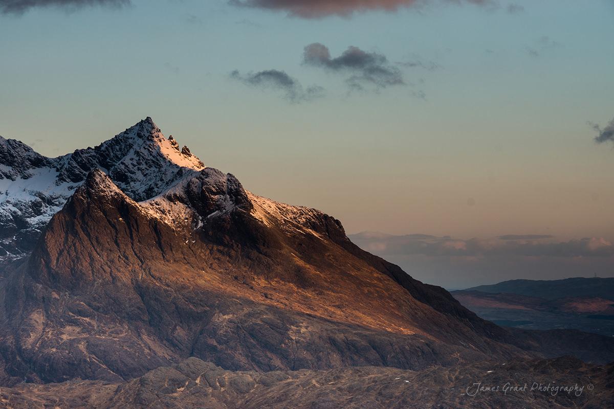 Sgurr Nan Gillean Sunrise - Isle Of Skye - Scotland Photography