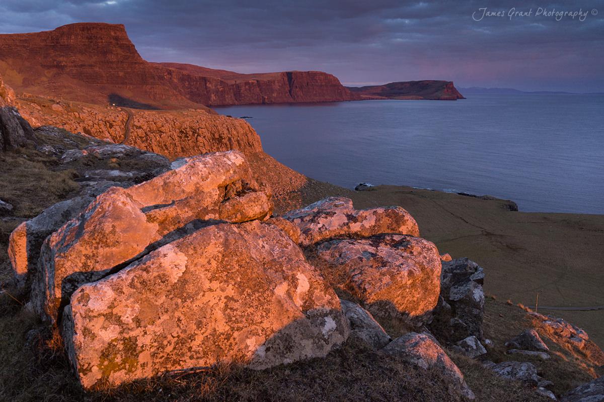 Waterstein Head - Isle Of Skye - Scotland Photography