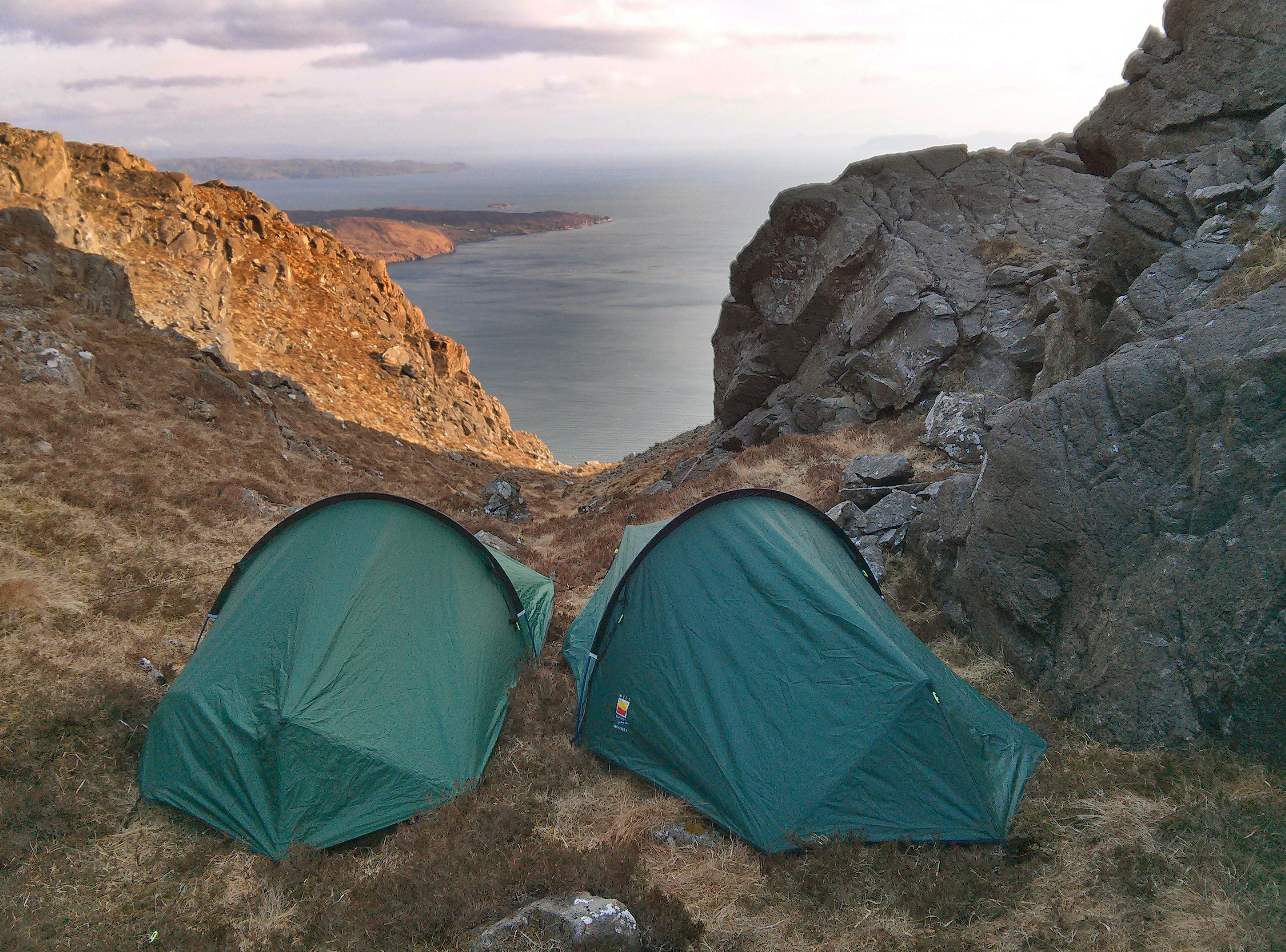 Sgurr Na Stri Wild Camp - Tent Pitch - Isle Of SKye - Scotland Photography