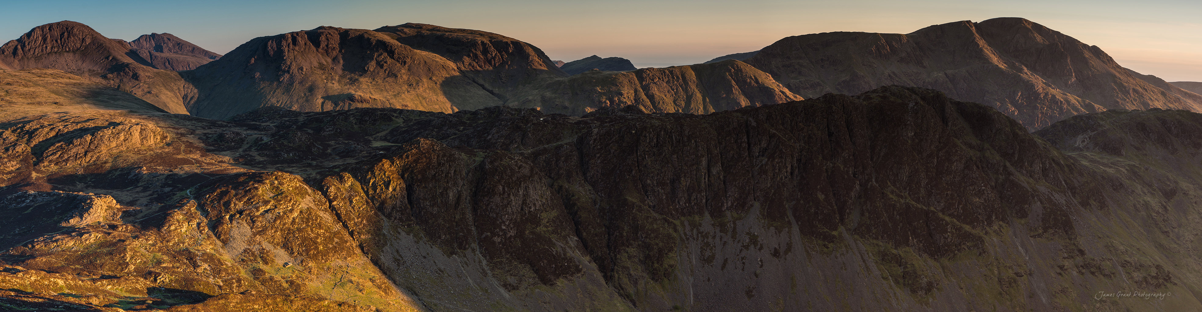 Fleetwith Pike Sunset - Lake District Wild Camping Photography