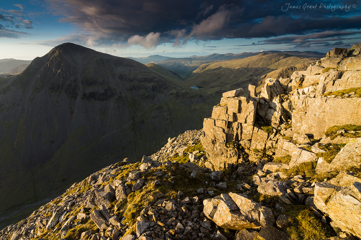 Great Gable from Lingmell - Lake District Photography
