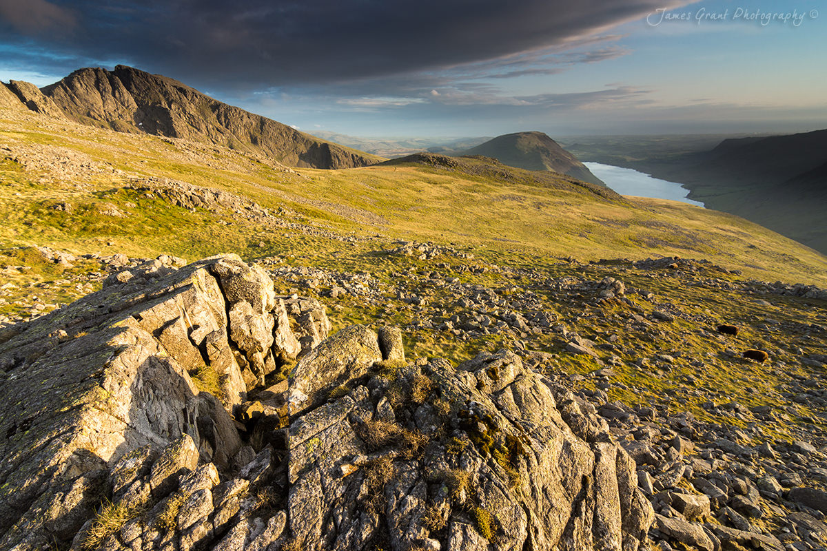 Lingmell To Scafell and Wast Water - Lake District Photography