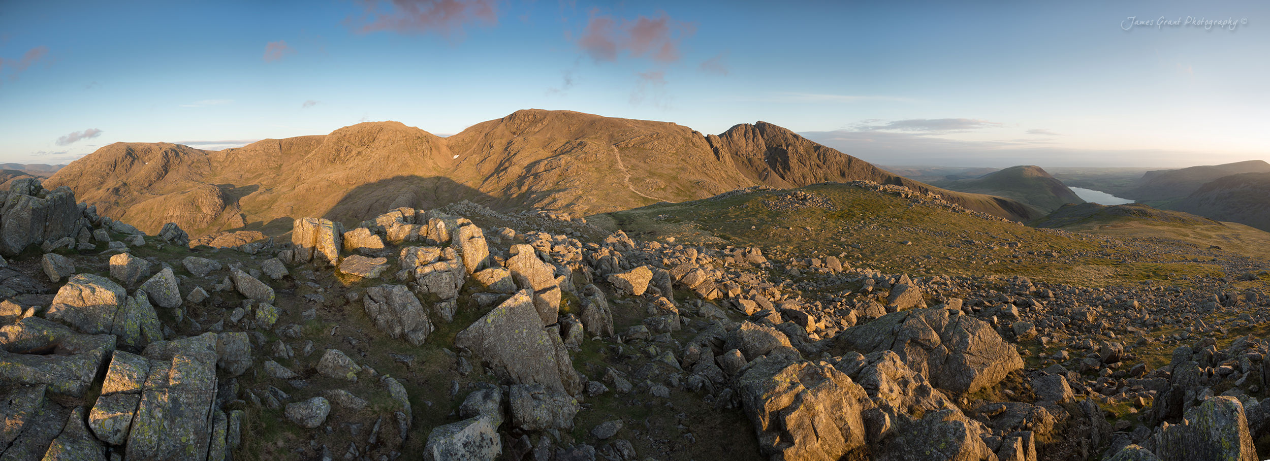 The Scafell Range from Lingmell - Lake District Photography