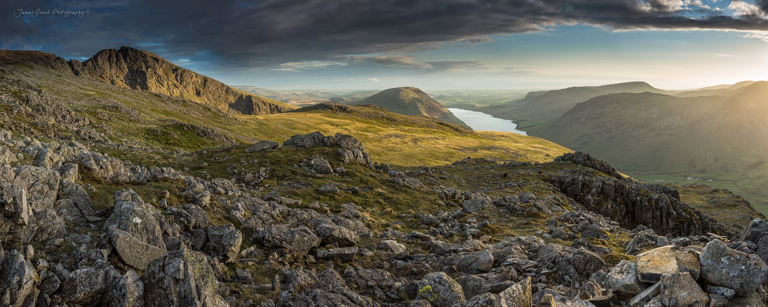 Lingmell Panoramic - Lake District Photography