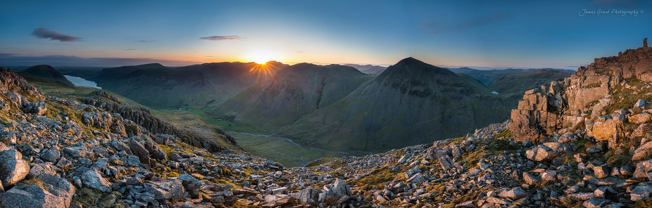 Lingmell Sunset - Lake District Photography
