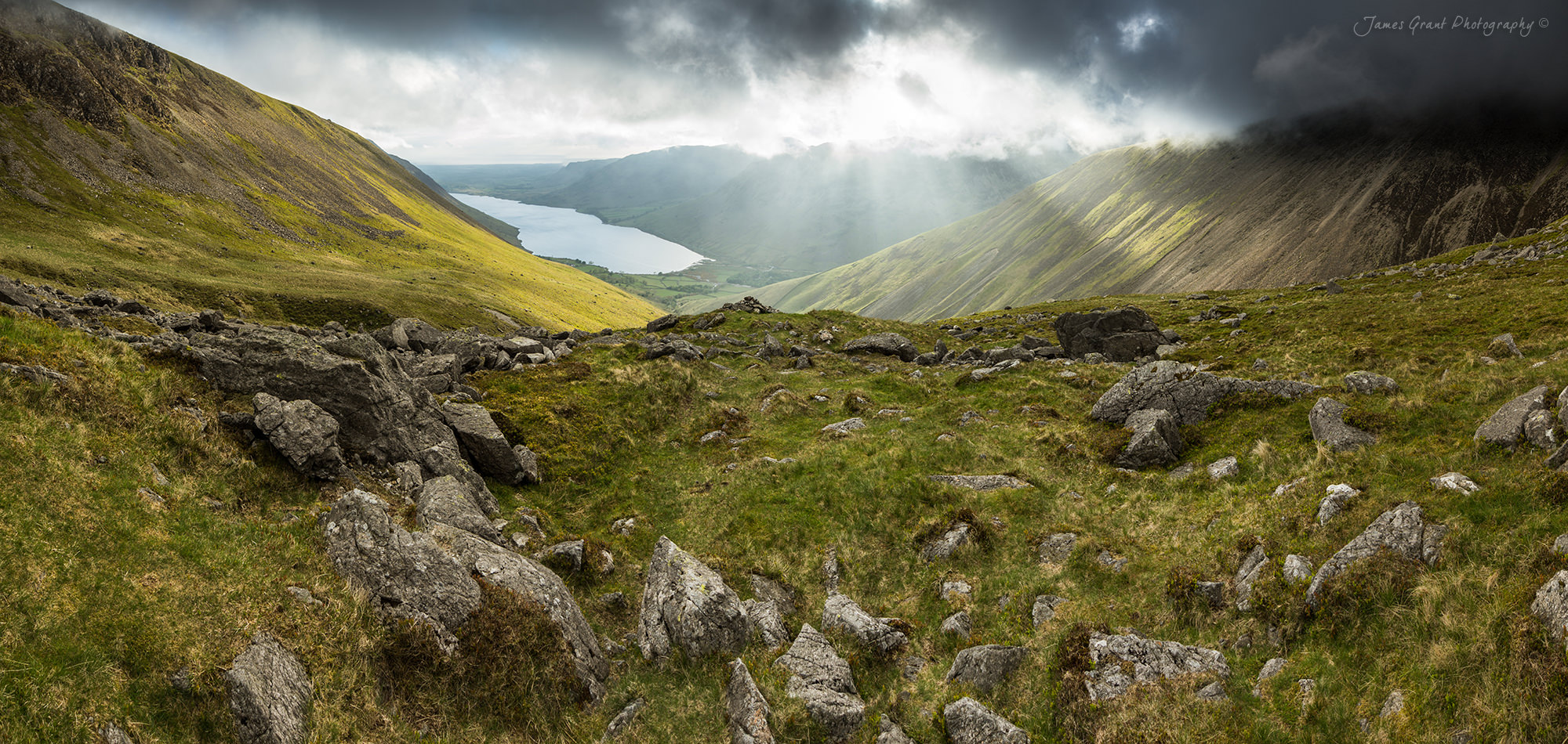Wasdale Breaking Storms and Light - Lake District Photography