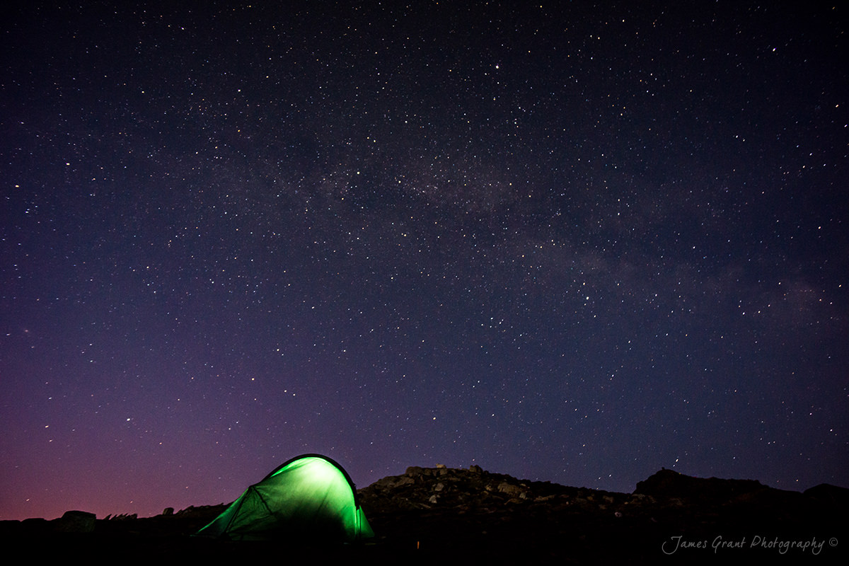 A Night Under The Stars - Snowdon Wildcamp - Snowdonia Photography