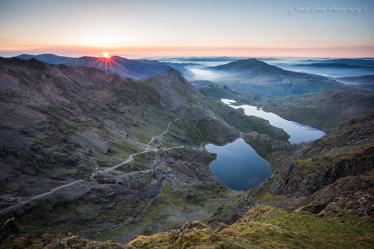 Snowdon Sunrise - Snowdonia Photography