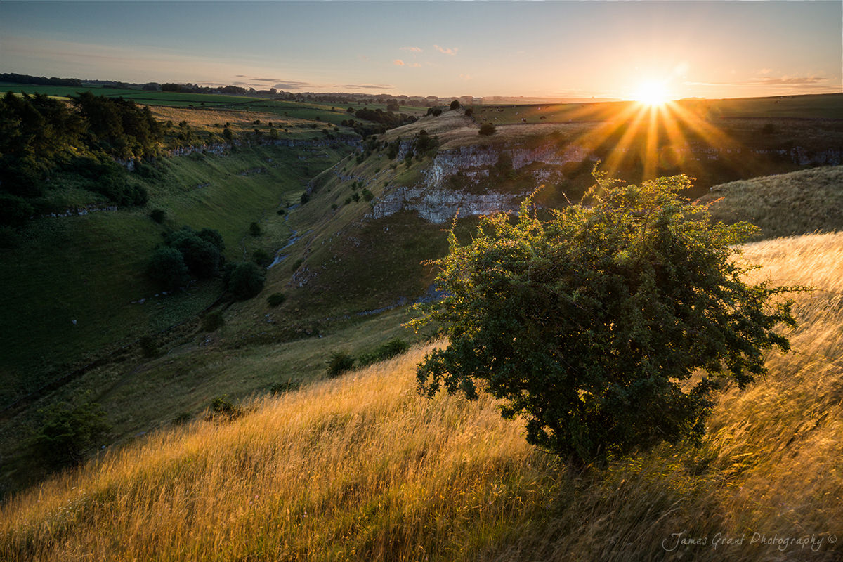 Lathkill Dale Sunset - Peak District Photography