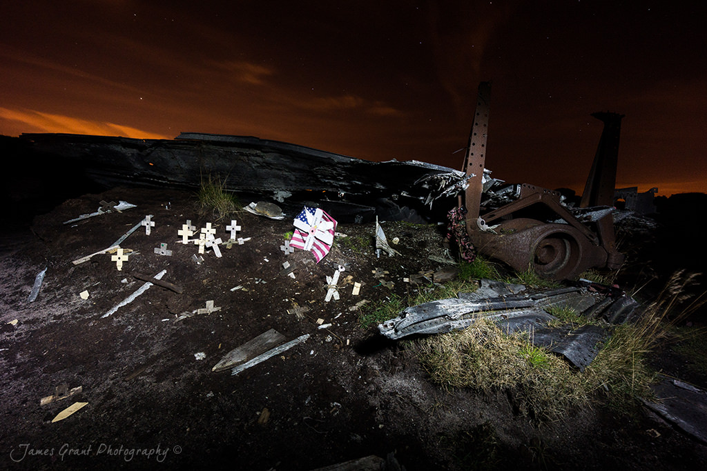 Over Exposed - Bleaklow Superfortress Crash Site - Peak District Photography