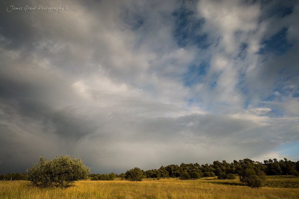 Big Skies - Birchen Edge - Peak District Photography
