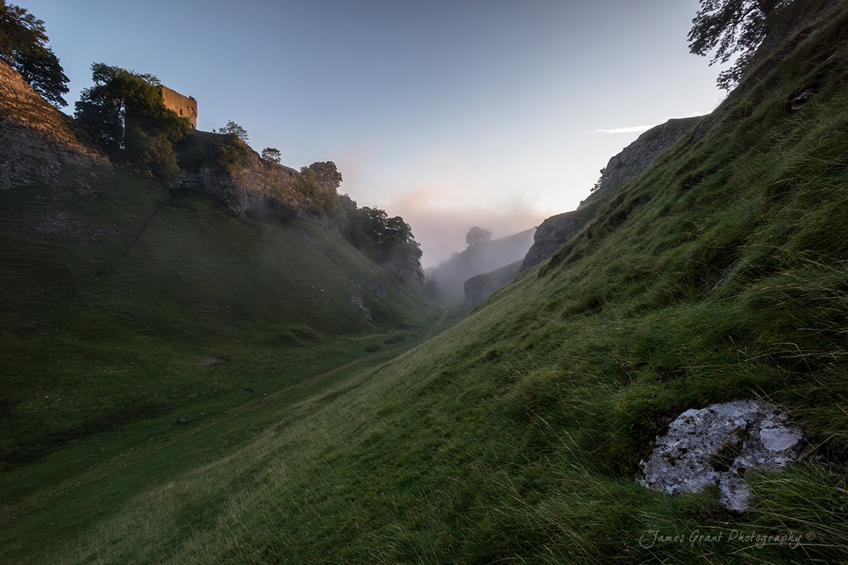 Cavedale Sunrise - Castleton - Peak District Photography