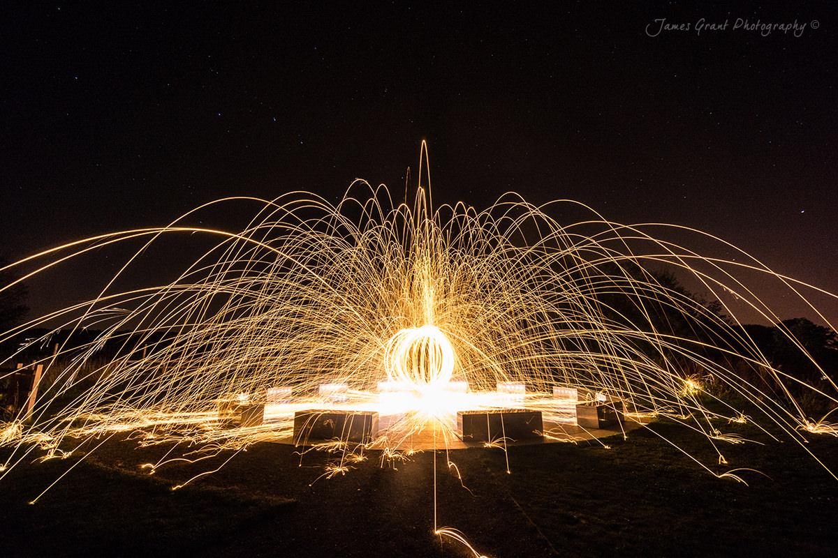 Stardisc Fireball - Wirksworth - Peak District Photography