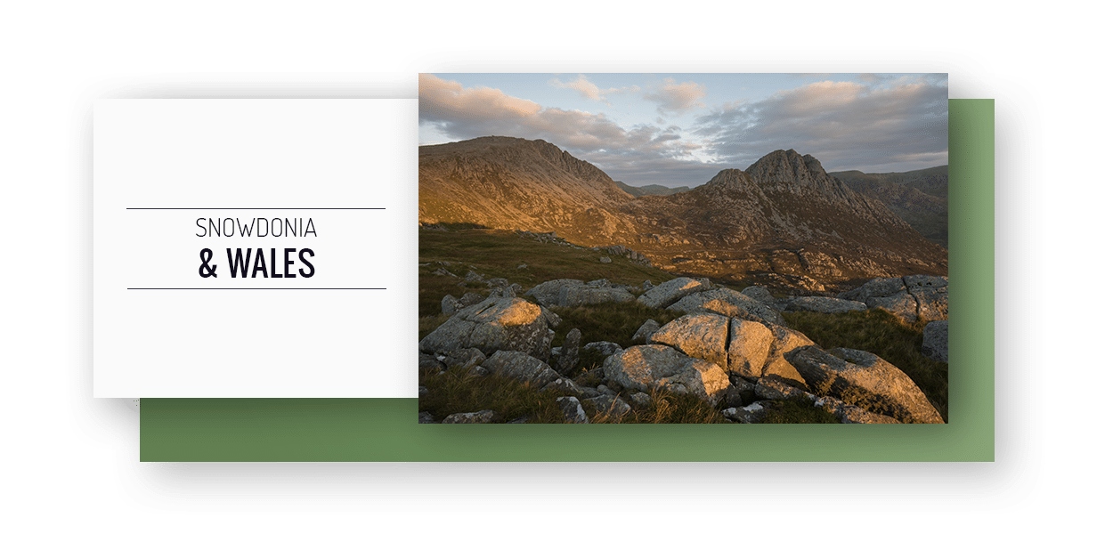 Snowdonia and Wales Photography