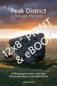 Peak District Through The Lens Print Book